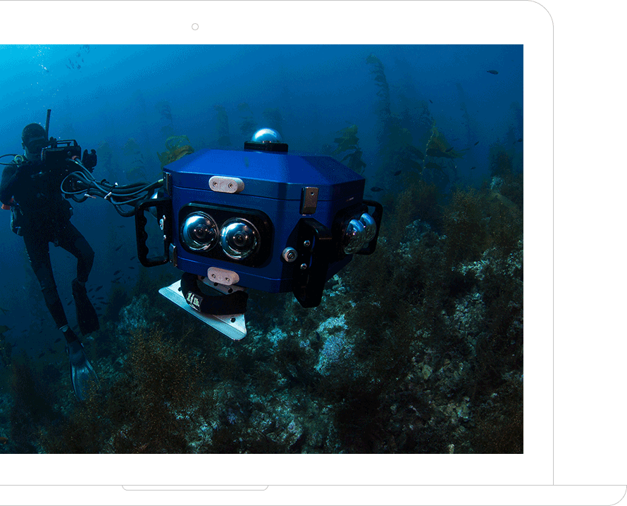 Sexton Company has the tools you need for underwater filming, research and exploration