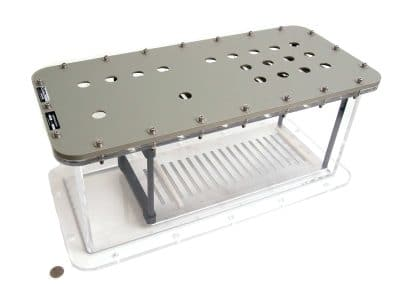 Acrylic / Aluminum Box (2015)
